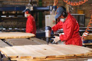 تولید پالت چوبی