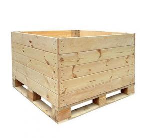 باکس پالت چوبی